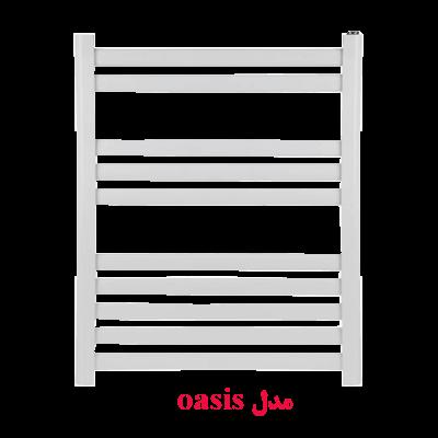 رادیاتور حوله خشک کن ایران رادیاتور مدل oasis